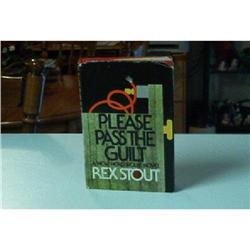 Book-Please Pass The Guilt By Rex Stout #862791