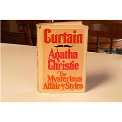 Curtain-The Mysterious Affair At Styles-Agatha #862815
