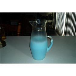 West Virginia Glass Company Smokie Turquoise #862884