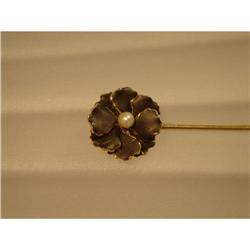 Stickpin  15ct.  Pansy #862909