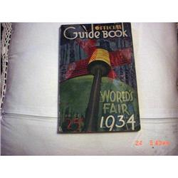 World's Fair Official Guide Book 1934 #862914
