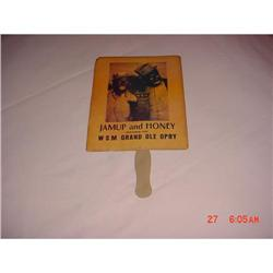 "Fan, blk memorabilia ""Jamup and Honey "" #862918"