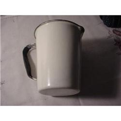 Pitcher, white metal measuring pitcher #862931