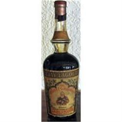 """old liquor 1930's """"creme de cassis"""" #862954"""