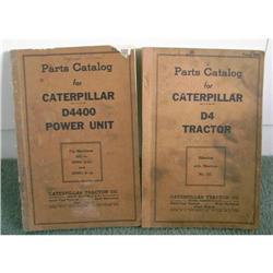 Caterpillar Parts Catalog-1939 & 1940 #862970