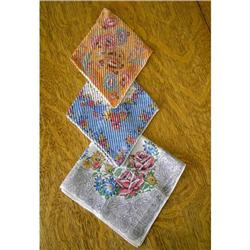 Linens-Ladies Hankies #862977