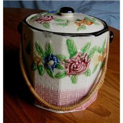 Vintage Japan Tea Bisquit Barrel #862994