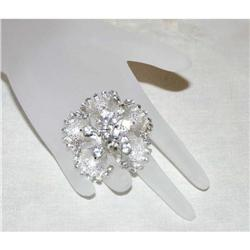 Beautiful Vintage Retro Modern Rhinestone Pin #863048