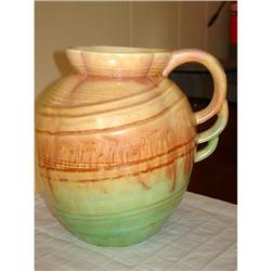 BEAUTIFUL...SYLVAC POTTERY PITCHER...HIGHLY #863060