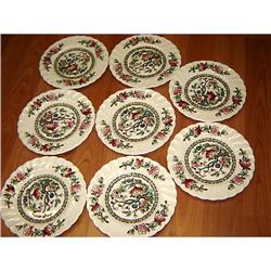 "8 Myott Staffordshire ""Indian Tree"" Bread Plate #863063"