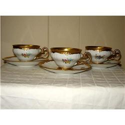 6 pc. Royal Porcelain Manuf. Demitasse tea set #863079