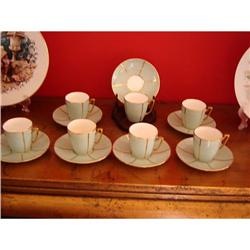 14 pc MIINTON Demitasse Cups and Saucers #863086