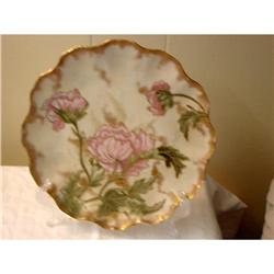 OLD J.P.L. LIMOGES HAND PAINTED PLATE C.1862 #863091
