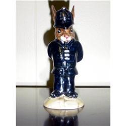 """ROYAL DOULTON BUNNYKIN """"POLICEMAN"""" DB64 #863106"""