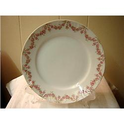 6 Limoges G.D.A. Luncheon Plates-Floral Swag #863114