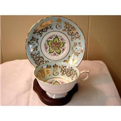 PARAGON CUP/SAUCER-COMM. HM THE QUEEN #863118