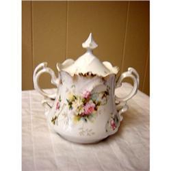 Royal Vienna Sugar bowl w/lid #863125