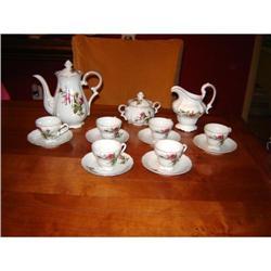 17 pc. Tea Set, Noritake, and Haviland Piece.. #863126