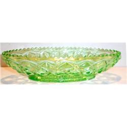 Green Little Jewel, Diamond Block, Celery Tray #863599