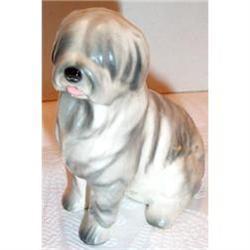 National Pottery English Sheepdog Figurine #863651