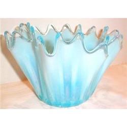 Fostoria Blue Opalescent Heirloom Bowl #863661