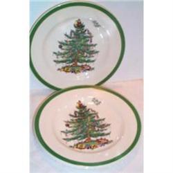 Three Spode Christmas Tree Plates #863662