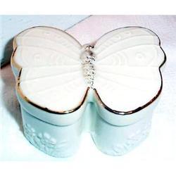 Lenox Butterfly Shaped Trinket Box #863665