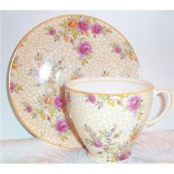 Old Royal Chintz Cup and Saucer #863667