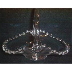 Candlewick Handled Elegant Basket #863669