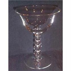 Four Candlewick Elegant Cocktail Goblets #863676