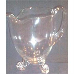 Crystal Footed Pitcher #863681