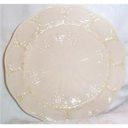 Belleek Shell Decorated Plate #863694