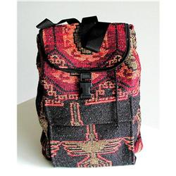 PERU.  Handcrafted Back Pack. Artisan Crafted #863716