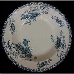 Sarreguemines Soup Bowl / Plate #863733