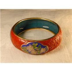 Beautiful Estate Serpentine Bangle Bracelet  #863736