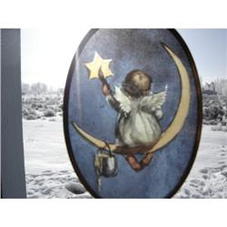ANGEL STAINED GLASS ORNAMENT #863743