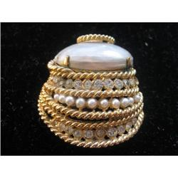 Mother of Pearl Pin #863756