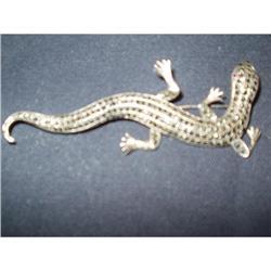 Marcasite Lizard Pin #863831