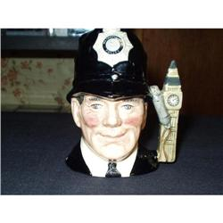 "Royal Doulton ""The London Bobby"" Toby Jug #863836"