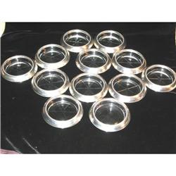 Frank M Whiting Sterling Silver Coasters 12 pc. #863938