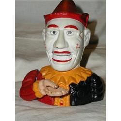 Vintage Reproduction Cast Iron Mechanical Clown #863950