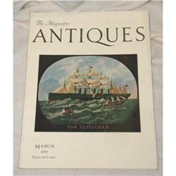 Antiques,The Magazine March 1929 ORIGINAL NMint #863959