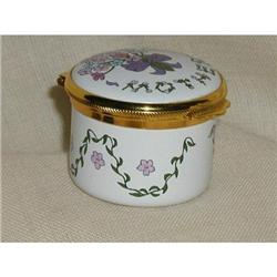 Trinket Box MOTHER  Alastor Enamels,England  #863963