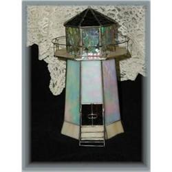 Stained Glass Lighthouse  #863969