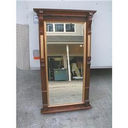 Walnut  Eastlake Victorian Mirror #878544
