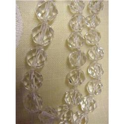 20's Long CRYSTAL Strand of BEADS #878568