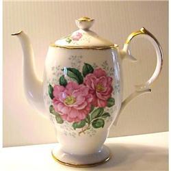 Queen Anne COFFEE POT  CAMELLIA #878584
