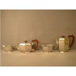 Teaservice  Sterling  Silver  English  x 4 #886290