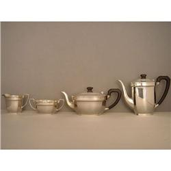 Teaset  Sterling  4 x piece  English  #886291