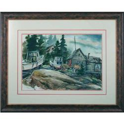 Karl Firth - At Home- Stunning Watercolor #886298